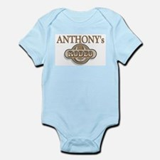 Anthony's Rodeo Personalized Infant Creeper
