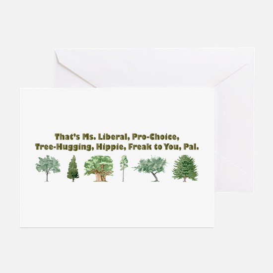 That's Ms. Liberal Greeting Cards (Pk of 10)