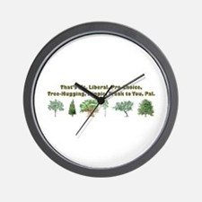 That's Ms. Liberal Wall Clock