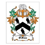O'Finn Coat of Arms Small Poster