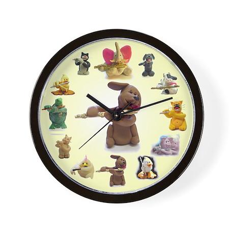 Candy Dog (& friends) Wall Clock