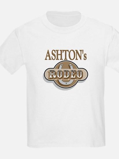 Ashton's Rodeo Personalized Kids T-Shirt