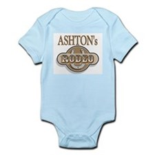 Ashton's Rodeo Personalized Infant Creeper