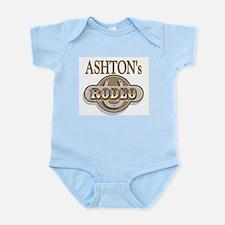 Ashton's Rodeo Personalized Infant Creeper
