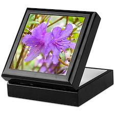 Purple Blossom Keepsake Box
