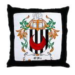 O'Fie Coat of Arms Throw Pillow
