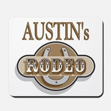 Austin's Rodeo Personalized Mousepad