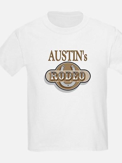 Austin's Rodeo Personalized Kids T-Shirt