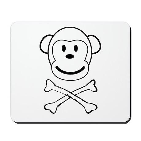 Monkey Pirate Mousepad