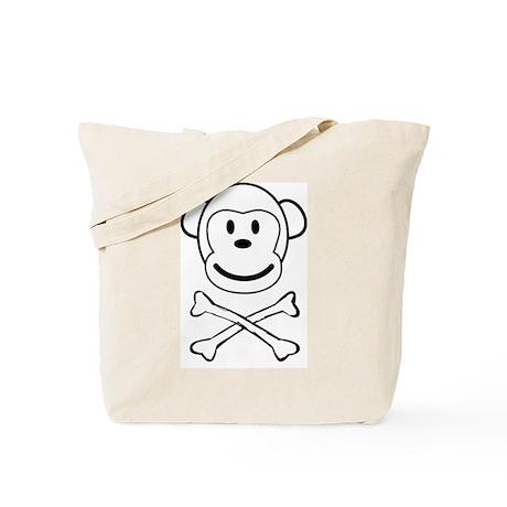 Monkey Pirate Tote Bag