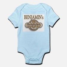 Benjamin's Rodeo Personalized Infant Creeper