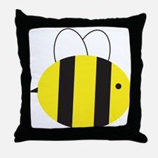 Buzzing Bumblebee Throw Pillow