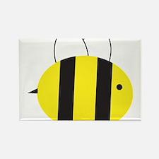Buzzing Bumblebee Rectangle Magnet