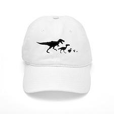 Dino Chicken Black Baseball Cap