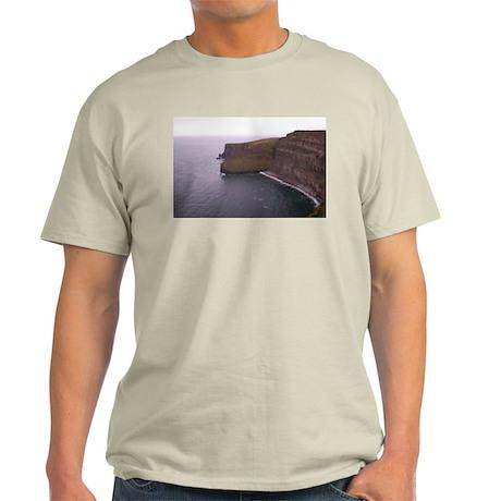 Cliffs in Ireland Light T-Shirt