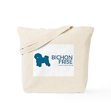 "Bichon Frise ""One Cool Dog"" Tote Bag"