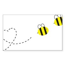 Bee in Love Decal