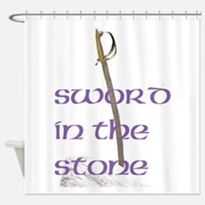 SWORD IN THE STONE™ Shower Curtain
