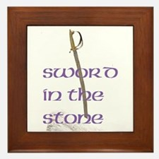 SWORD IN THE STONE™ Framed Tile