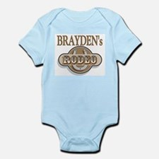 Brayden's Rodeo Personalized Infant Creeper