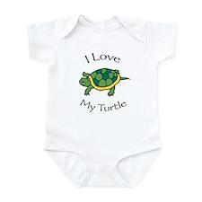 I Love my Turtle Infant Creeper