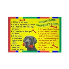 Property Laws -GreatDane,Blue Magnets