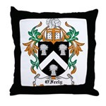 O'Feely Coat of Arms Throw Pillow