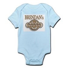 Brendan's Rodeo Personalized Infant Creeper