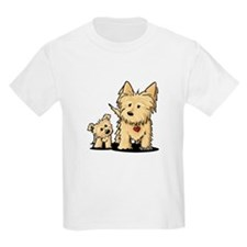 Cairn Mom & Puppy T-Shirt