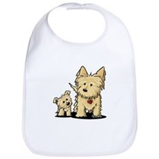 Cairn Mom & Puppy Bib