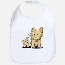 Cairn Mom & Puppy Bib