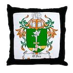 O'Fee Coat of Arms Throw Pillow