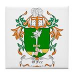 O'Fee Coat of Arms Tile Coaster