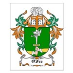 O'Fee Coat of Arms Small Poster