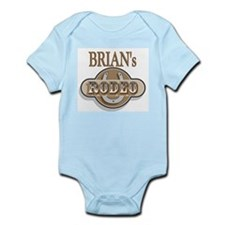 Brian's Rodeo Personalized Infant Creeper