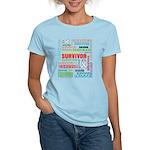 Survivor - Mesothelioma Women's Light T-Shirt
