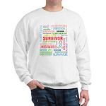 Survivor - Mesothelioma Sweatshirt