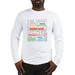 Survivor - Mesothelioma Long Sleeve T-Shirt