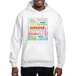 Survivor - Mesothelioma Hooded Sweatshirt
