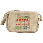 Survivor - Mesothelioma Messenger Bag