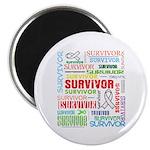 Survivor - Mesothelioma Magnet