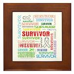 Survivor - Mesothelioma Framed Tile