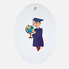 Graduation Ornament (Oval)