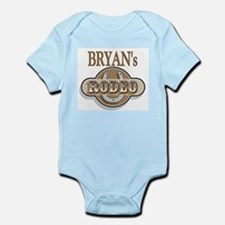 Bryan's Rodeo Personalized Infant Creeper