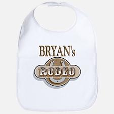 Bryan's Rodeo Personalized Bib
