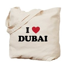 I Love Dubai Tote Bag