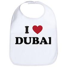 I Love Dubai Bib