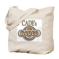 Cade's Rodeo Personalized Tote Bag