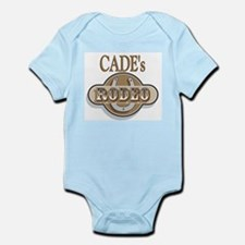 Cade's Rodeo Personalized Infant Creeper