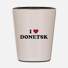 I Love Donetsk Shot Glass